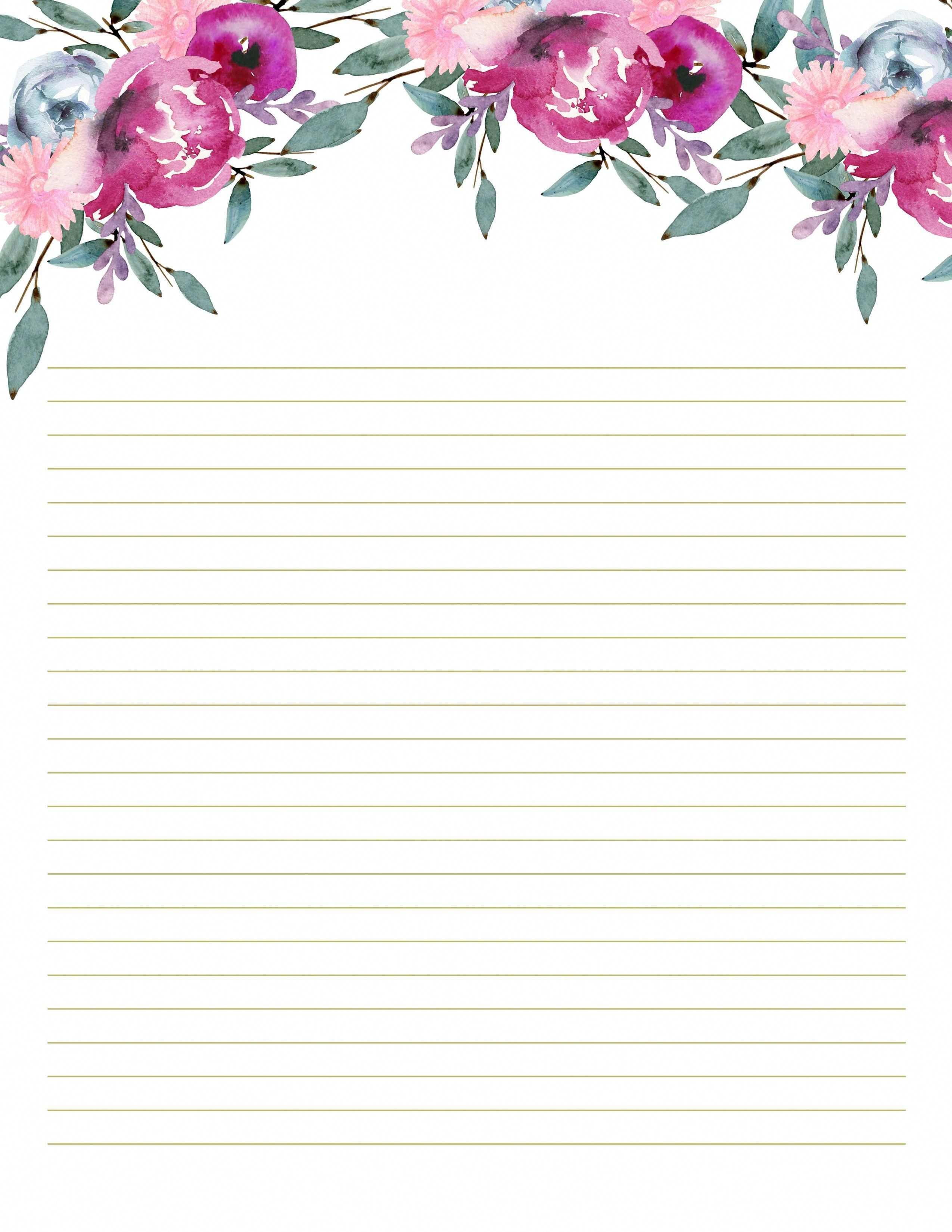 Stationery Printables For Diy Planner Scrapbookkitsetsy