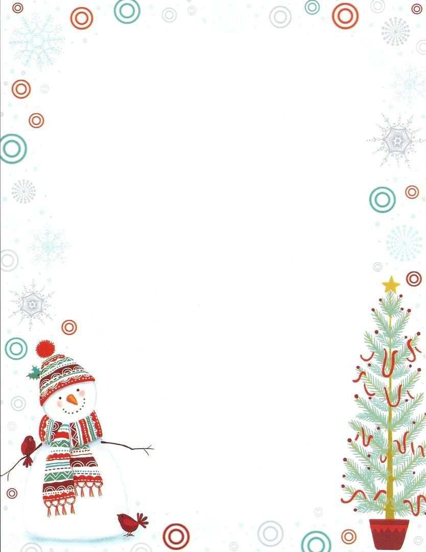 Word Vorlage Weihnachten Briefpapier Christmas Lettering