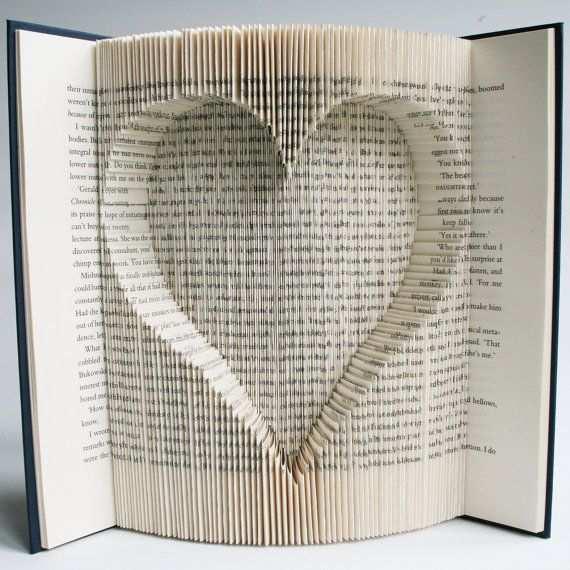 Inverted Herz 173 Falten 346 Seiten Das Muster Verwendet Die