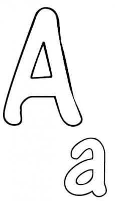 Alphabet Zum Ausmalen Oder Kneten Kostenloser Ausdruck Buchstaben Vorlagen Buchstaben Schablone Alphabet Schablonen