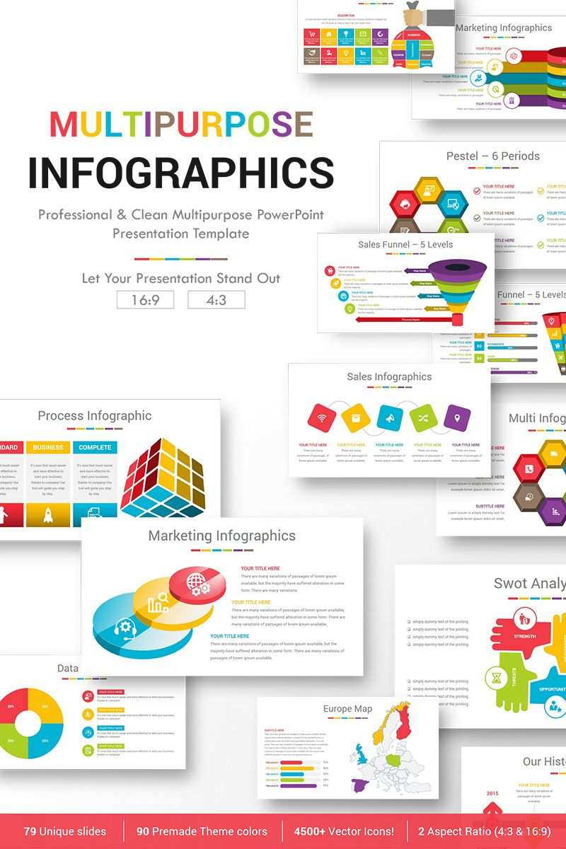 Multipurpose Infographics Powerpoint Template 76645 Infographic