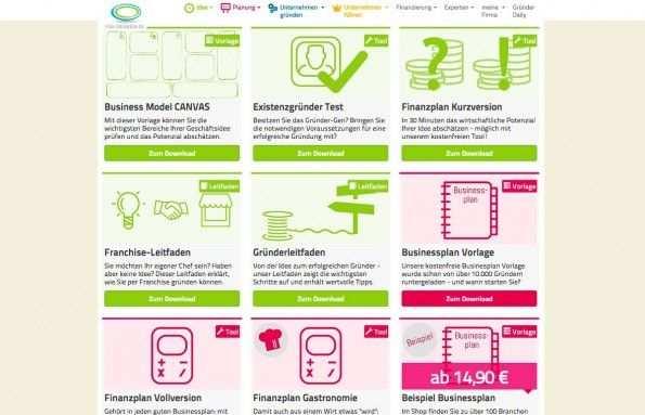 Businessplan Erstellen 5 Hilfreiche Tools Fur Angehende Grunder