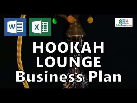 Hookah Lounge Business Plan Template With Example Sample