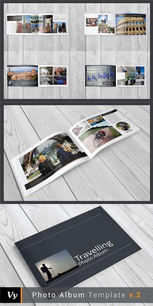 Photo Album Template V 02 Photo Album Templates Album