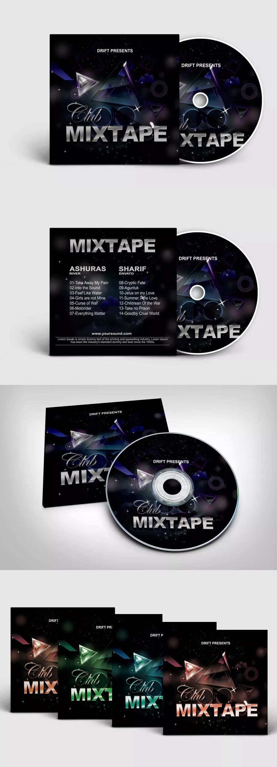 Pin On Cd Cover Templates