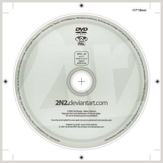 Free Dvd Label Psd Template Psd Template For A Dvd Label 120mm
