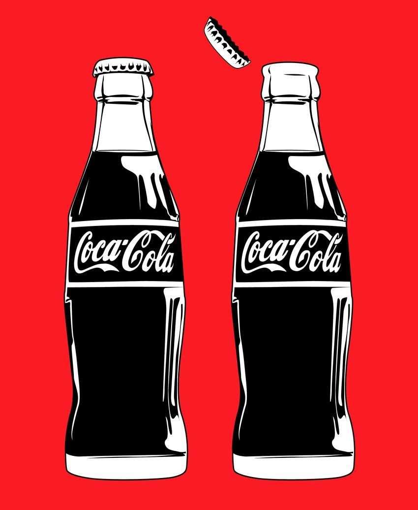 Pin Auf Cola Coca Cola