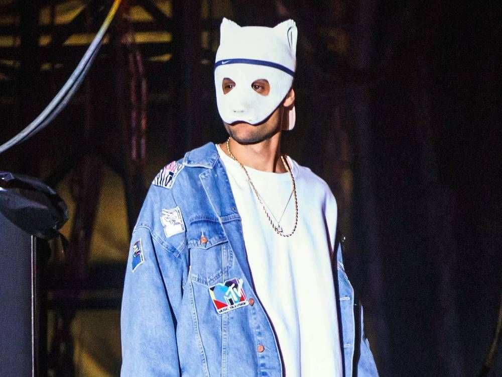 Uberraschung Rapper Cro Zeigt Sich Ohne Panda Maske Panda Maske