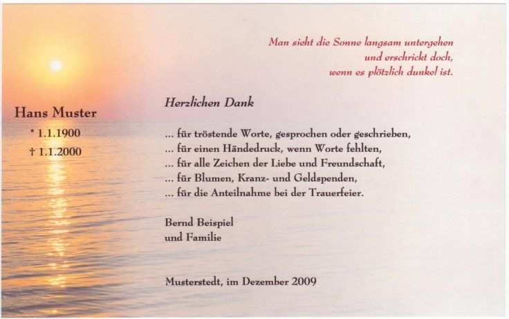 Bild In Originalgrosse Anzeigen Danksagungen Trauer Beileid Spruche Trauer