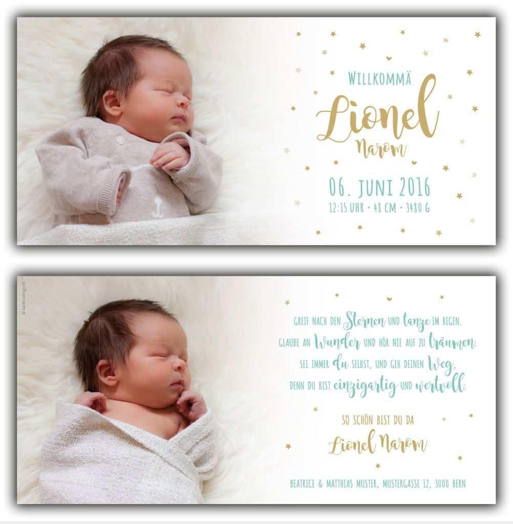 Text Dankeskarte Geburt Lustig Danksagung Geburt Dankeskarte