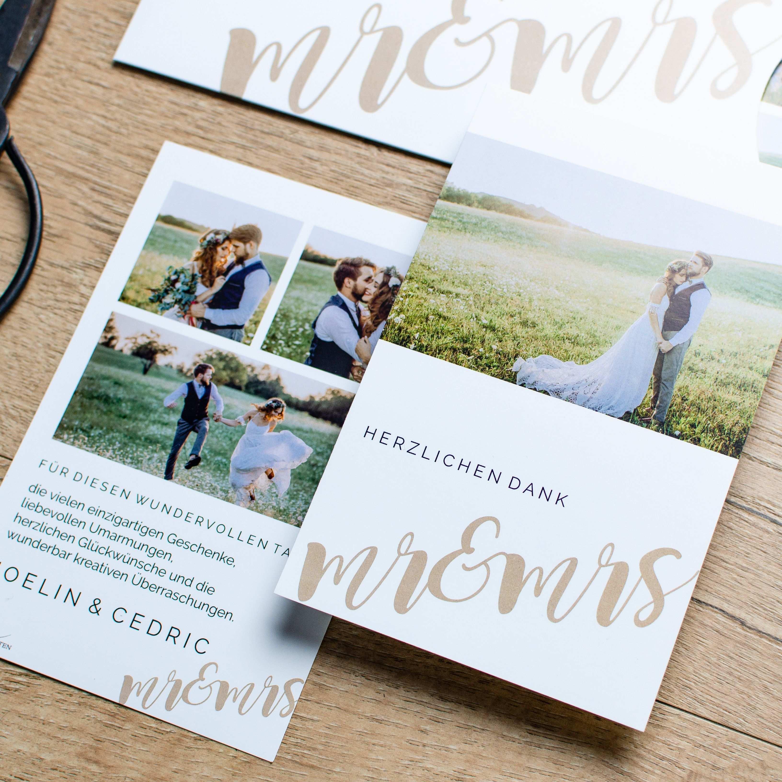 Joelin Und Cedric Mit Bildern Danksagung Hochzeit Hochzeit