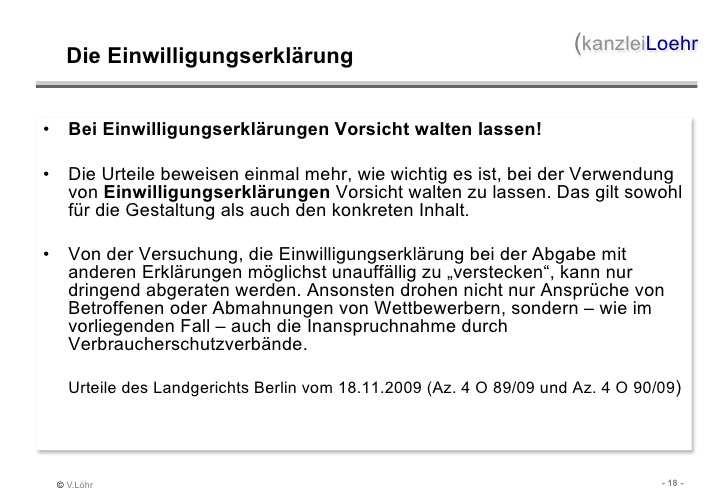 Imex 2011 Vortrag Von Volker Lohr Rechtsfallen Im Datenschutz Bei V