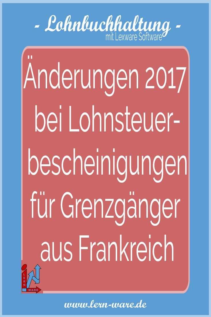 Lexware Lohn Und Elstam Anderungen 2017 Bei