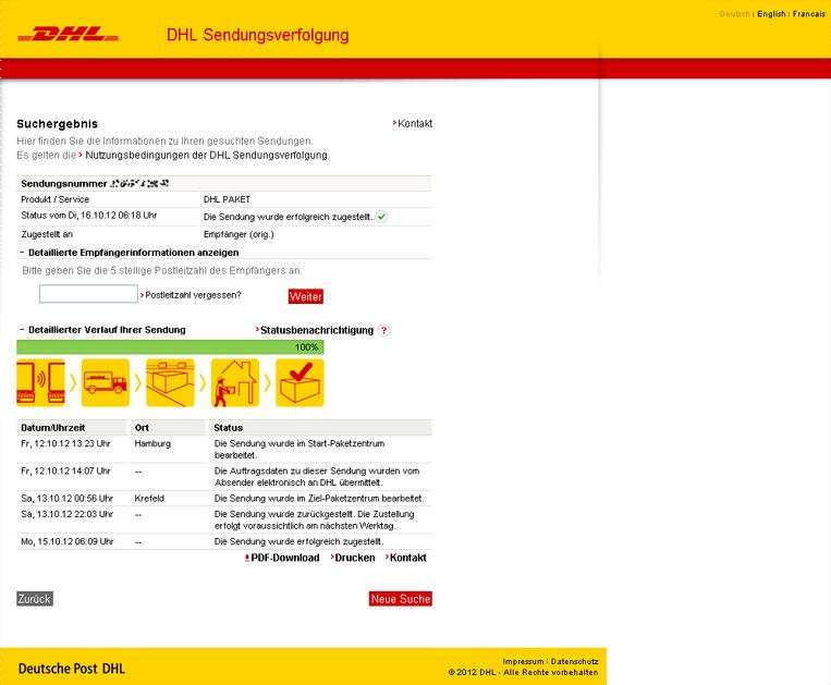 Dhl Track And Trace Api Pdf Free Download