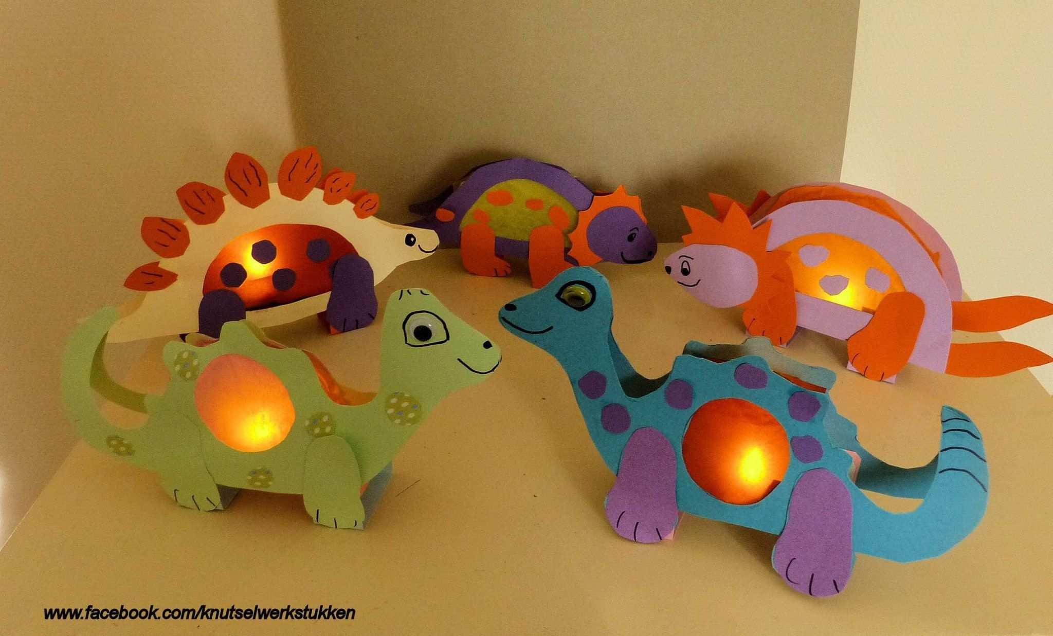 Dino Lampion Knutselen Dino Lampion Dinosaurus