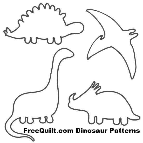 Dinosaur Patterns Buscar Con Google Dinosaurier Basteln