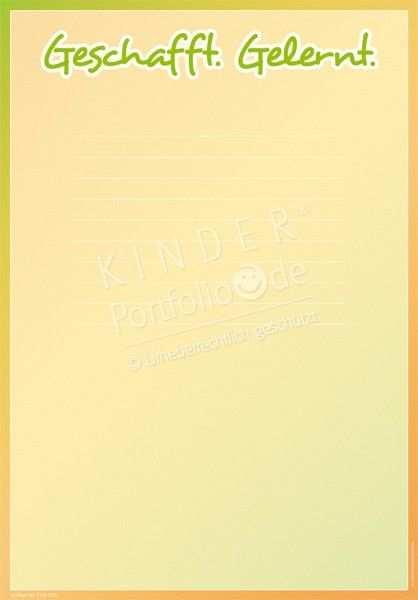 Kindergarten Portfolio Vorlage Tvb001 Geschaff Geschaff