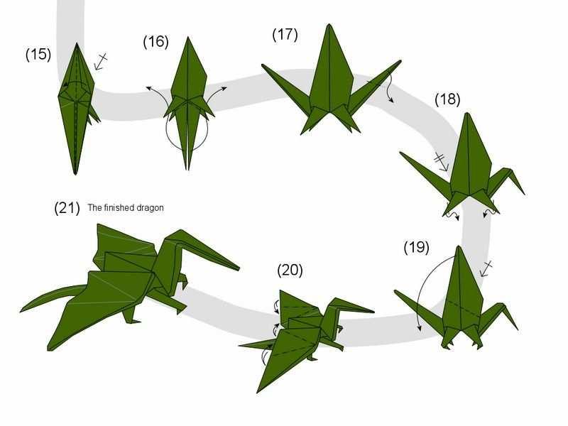Basteln Mit Kindern 100 Origami Diy Projekte Drachen Basteln