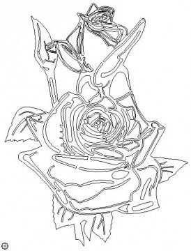 Dxf Vorlage Laser Rose Dxf Template Laser Rose Dxf