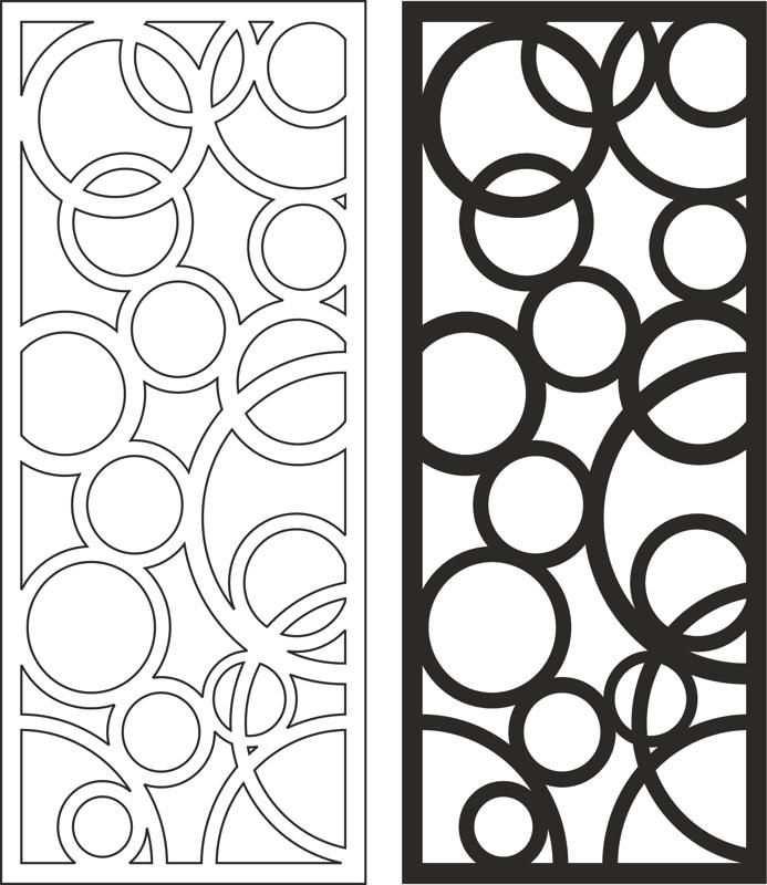 Wooden Separator Pattern Free Vector Cdr Download Dxf Vorlagen Schablonen Und Malvorlagen