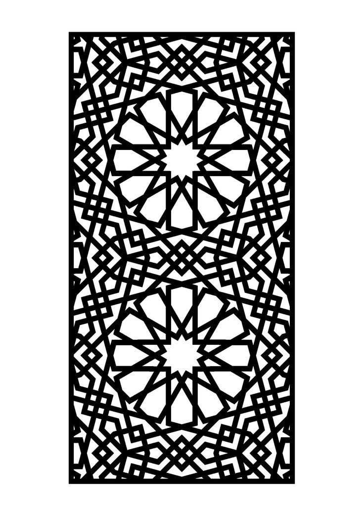Pattern Ideas Dxf File Free Download Stahl Kunst Stoffdruck Muster