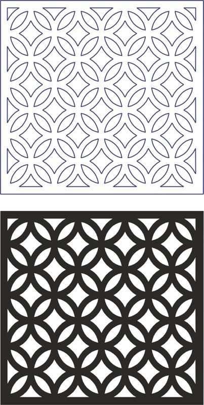 Vector Geometric Seamless Pattern Modern Dxf File Free Download Geometric Patterns Desenler Cizim