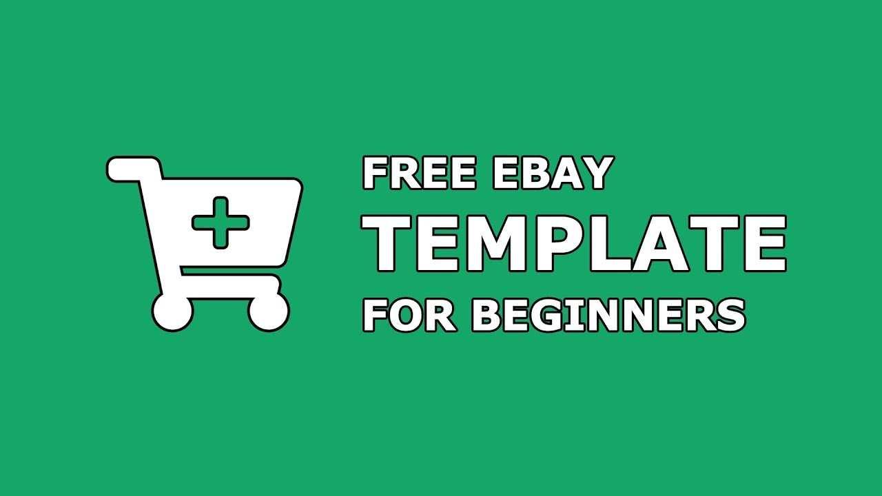 Free Ebay Template For Beginners Create Professional Ebay