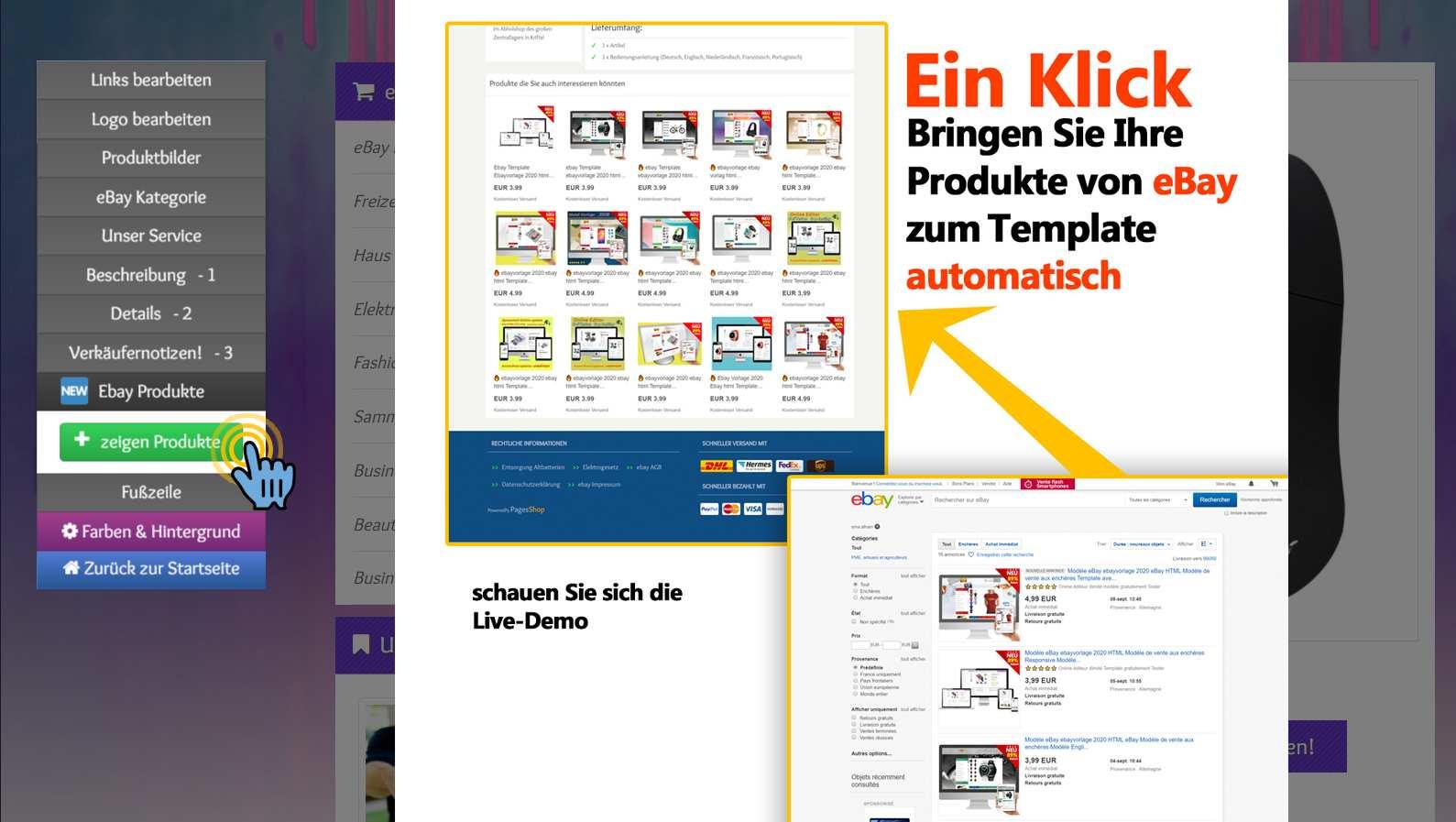 Free Ebay Templates Kostenlos Ebay Template Pagesshop