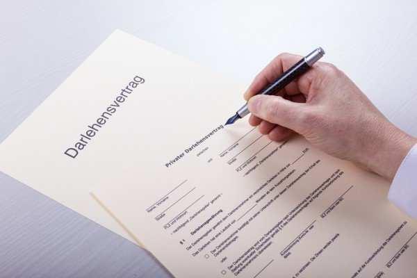 Formular Darlehensvertrag Vorlage Formulare Com