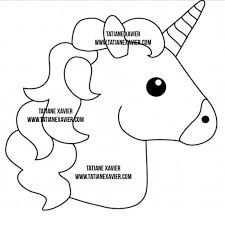 Image Result For Unicorn Sewing Pattern Free Einhorn Basteln