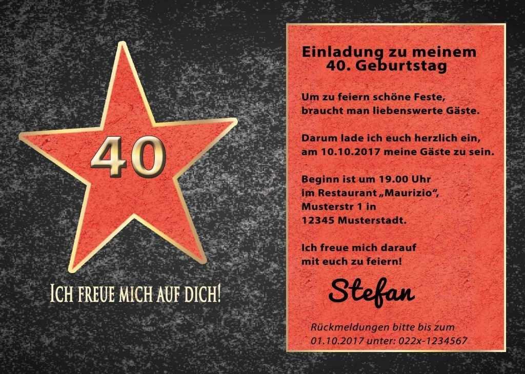 Einladungskarten 40 Geburtstag Oktoberfest Einladung 40