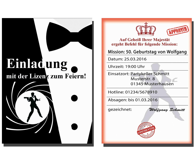 Einladung Feier Vorlage