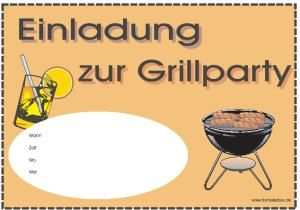 Einladung Zur Grillparty Einladung Sommerfest Einladungen