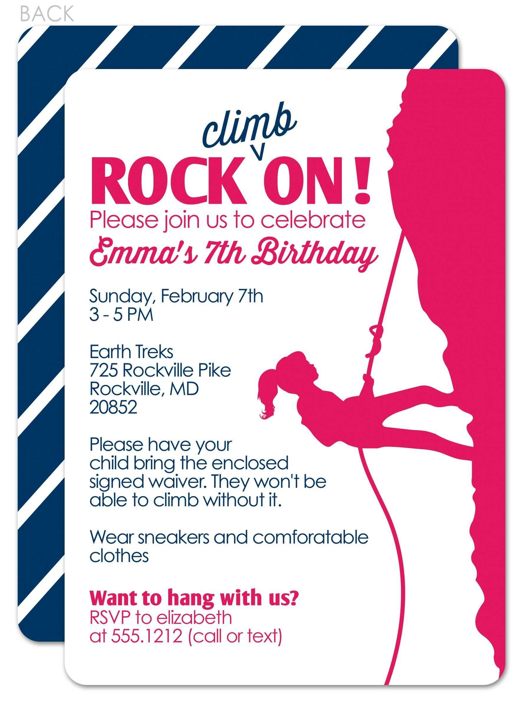 Einladung Klettern Basteln Einladung Kindergeburtstag Vorlage
