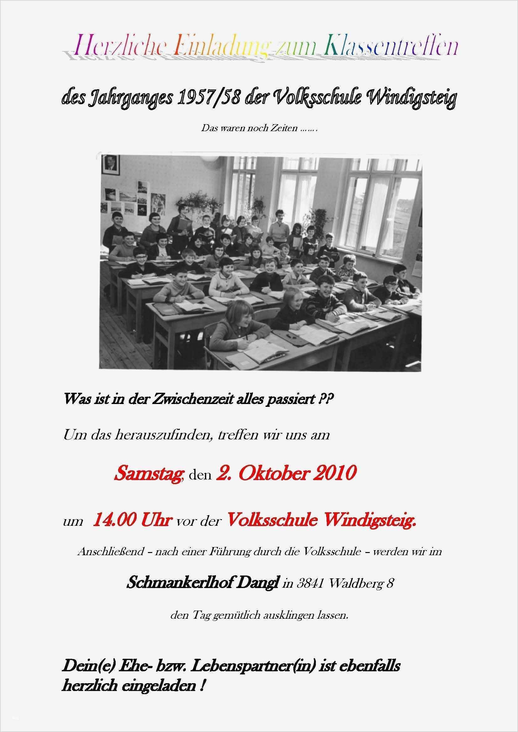 Einladung Klassentreffen Download Einladung Klassentreffen Drucken