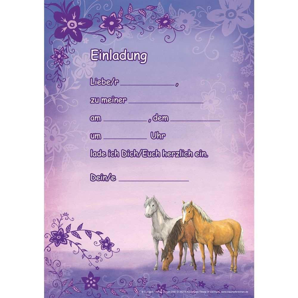 Einladung Pferd Pdf Einladung Sc Einladungskarten