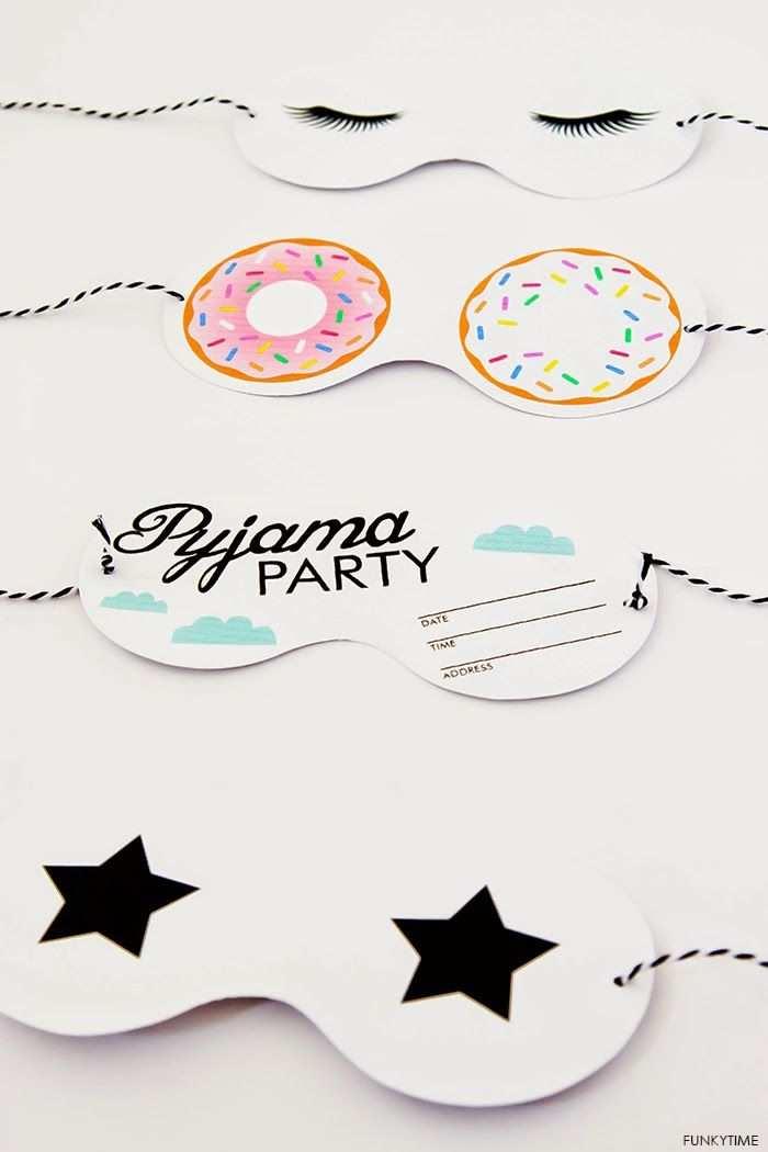 Friday Love Pyjama Party Invitations Art And Chic