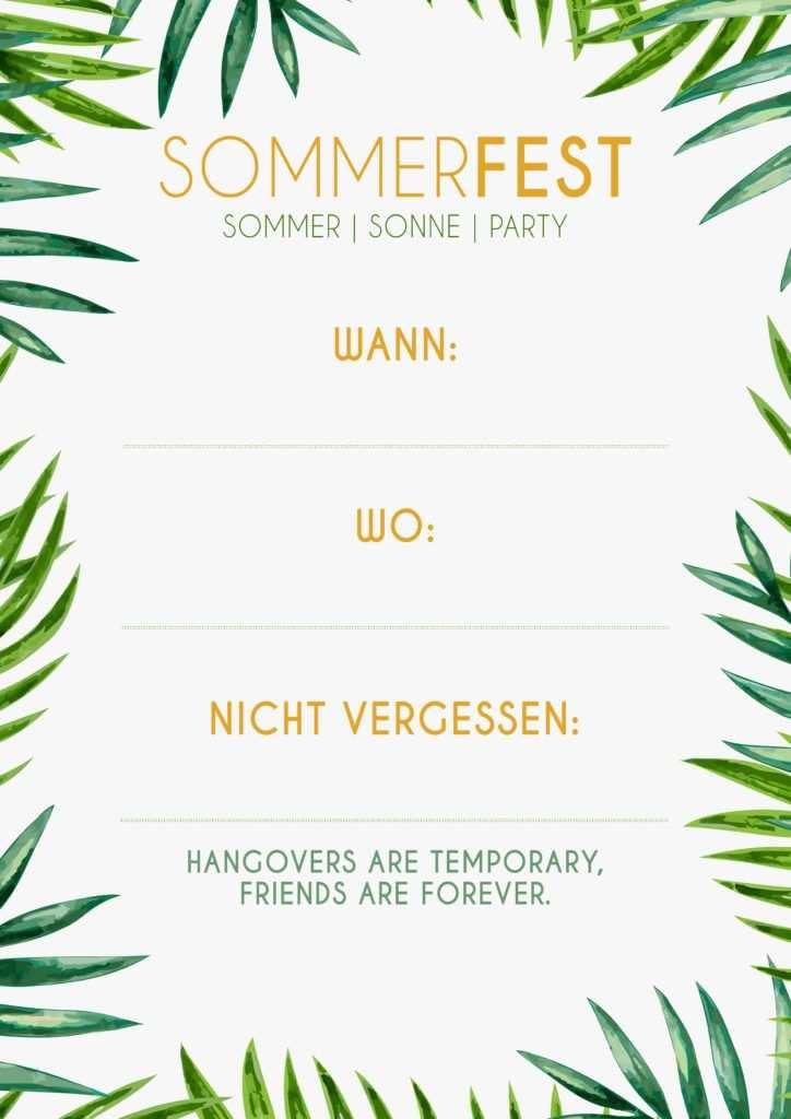 Alles Fur Dein Nachstes Unvergessliches Sommerfest Sommerfest