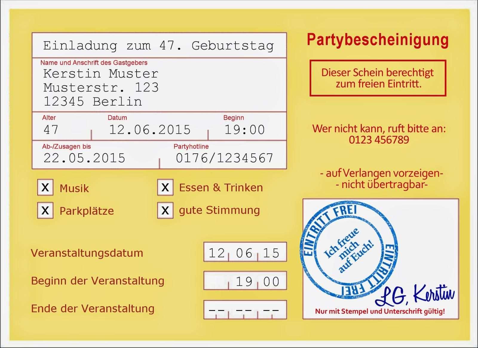 50 Geburtstag Einladung Geburtstag Einladung Vorlage Kostenlos