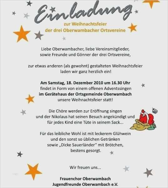 Einladung Zur Weihnachtsfeier Textvorlagen Weihnachtsfeier