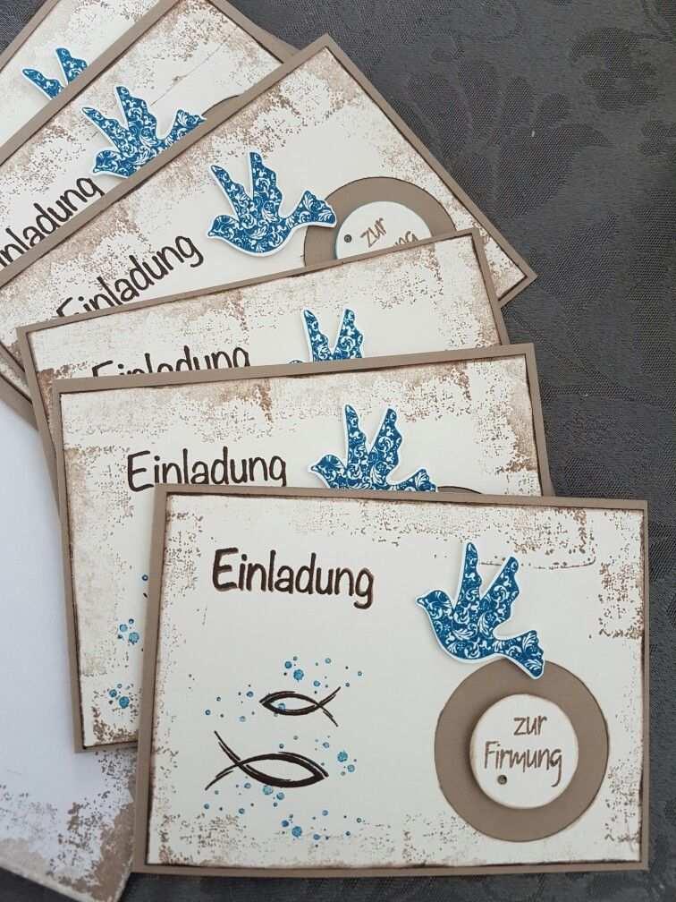 Einladungskarten Zur Firmung Einladungskarten Firmung Firmung