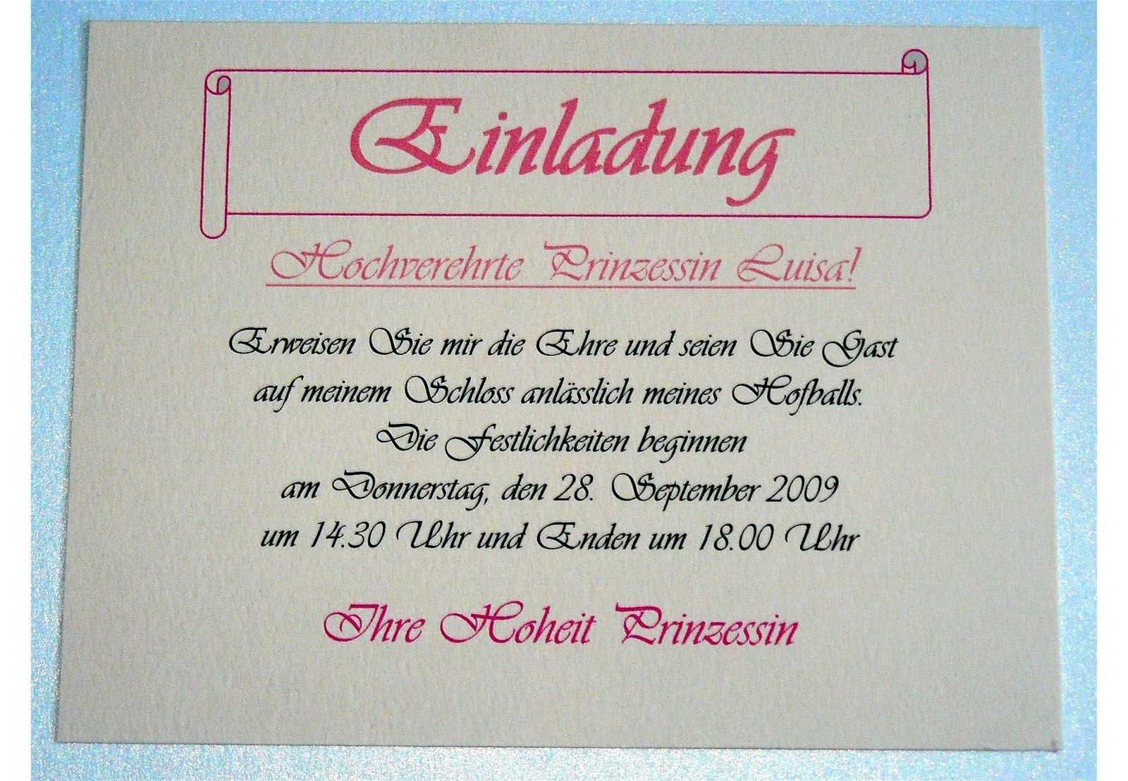 Pin Di Einladungskarten Geburtstag