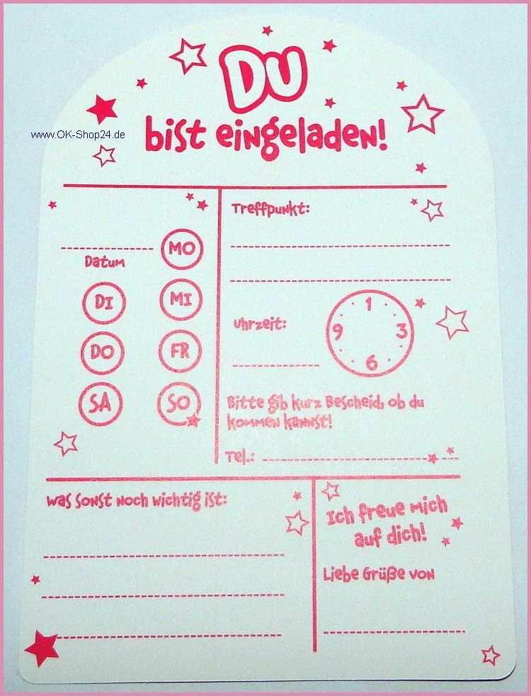 Einladung Kindergeburtstag Kostenlos Zum Ausdrucken