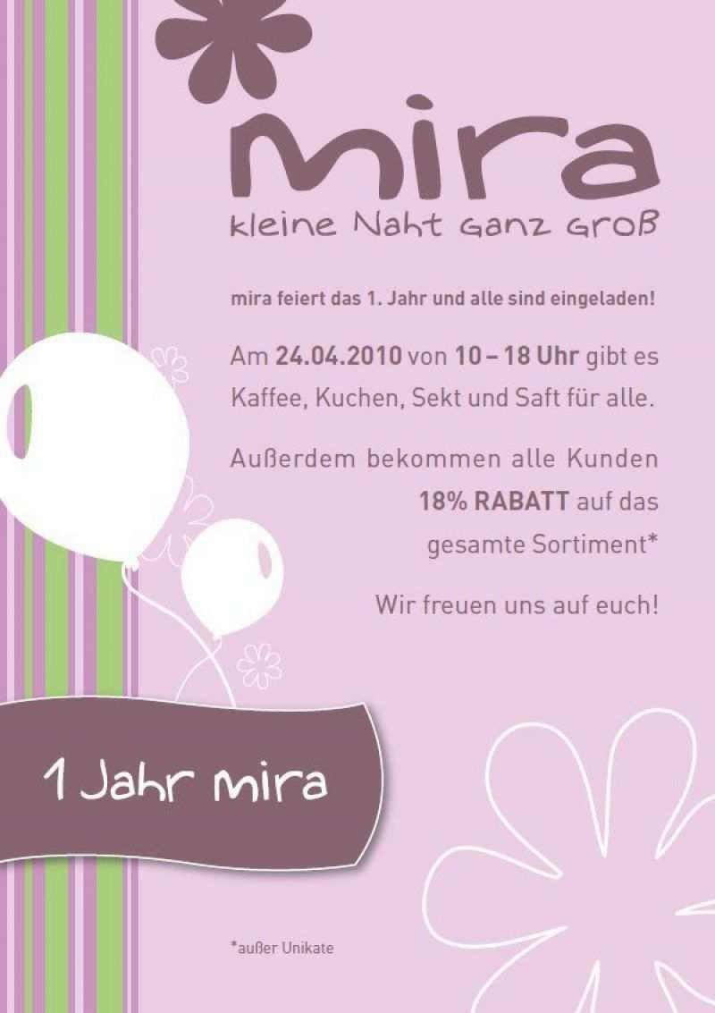 Einladungskarten 1 Geburtstag
