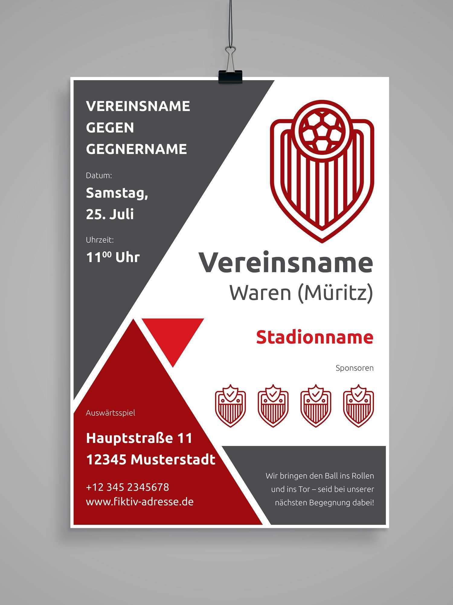 Design Vorlagen Fur Euren Sportverein Komplettausstattung Vol 4
