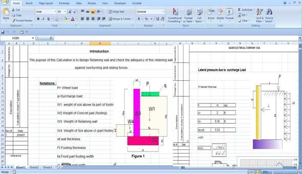 Download The Excel Based Calculation Sheets For Creating The