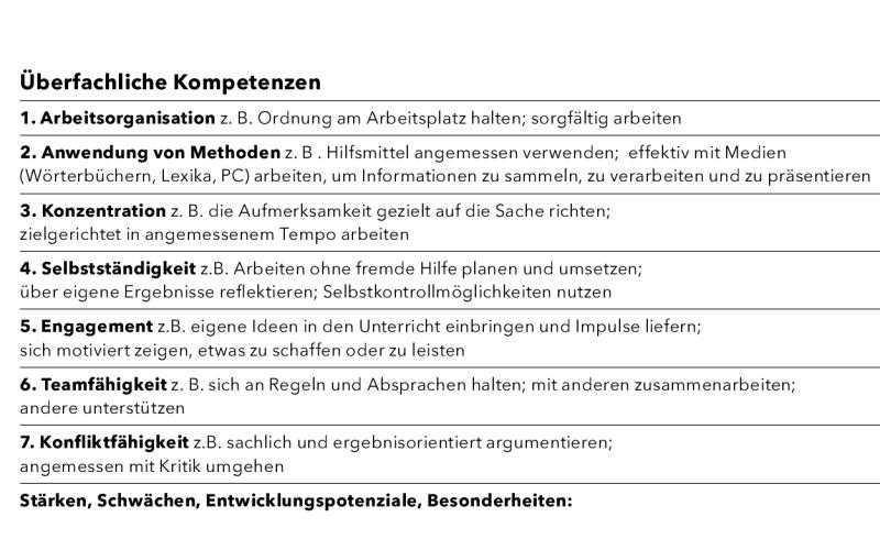 Zeugnisse Fur Grundschulkinder Neu Gestaltet Martin Habersaat