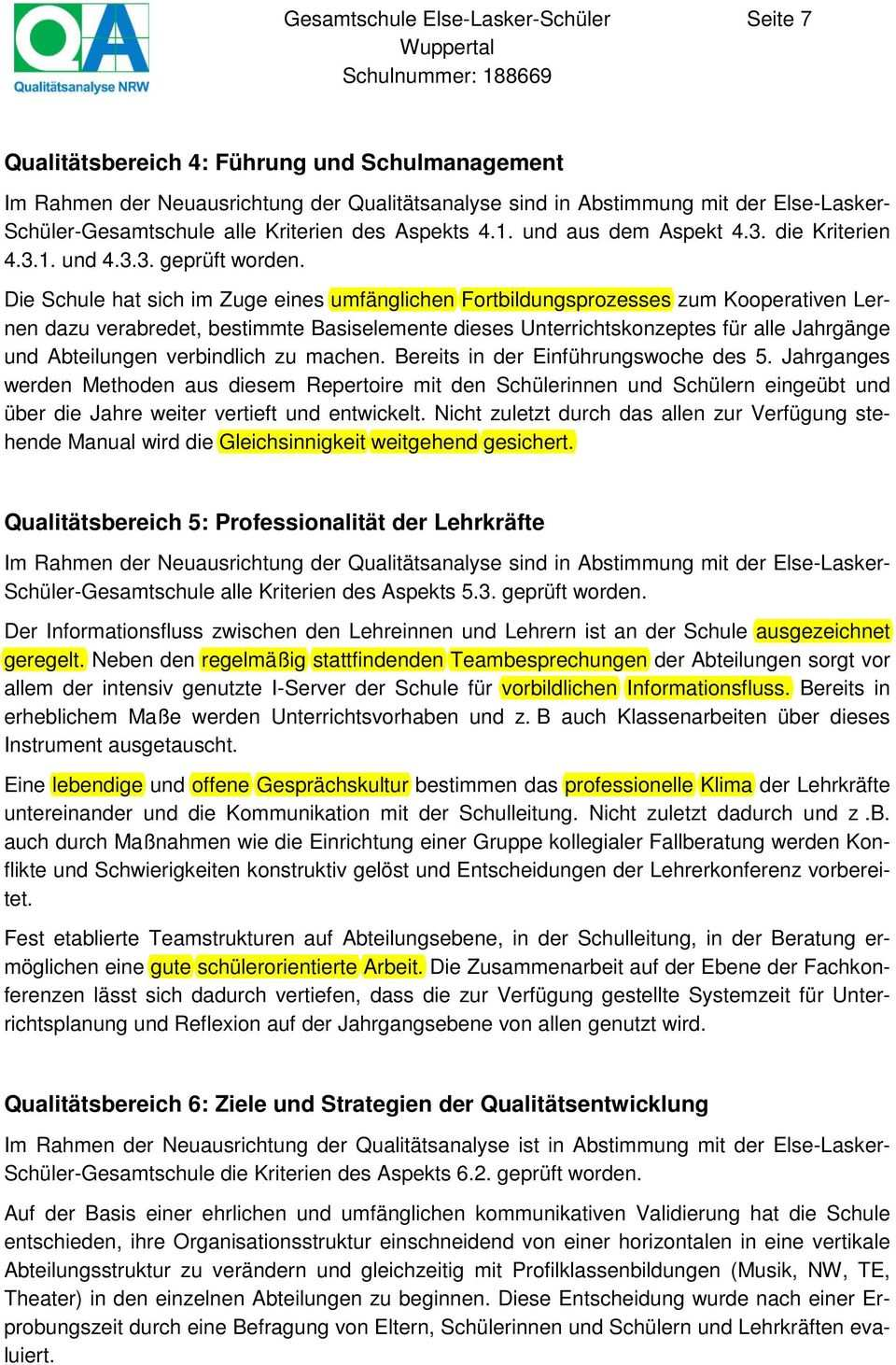Gesamtschule Else Lasker Schuler Pdf Kostenfreier Download