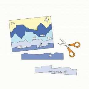 Erstes Schneiden Mit Streifenbildern Pdf Vorlagen Lernen