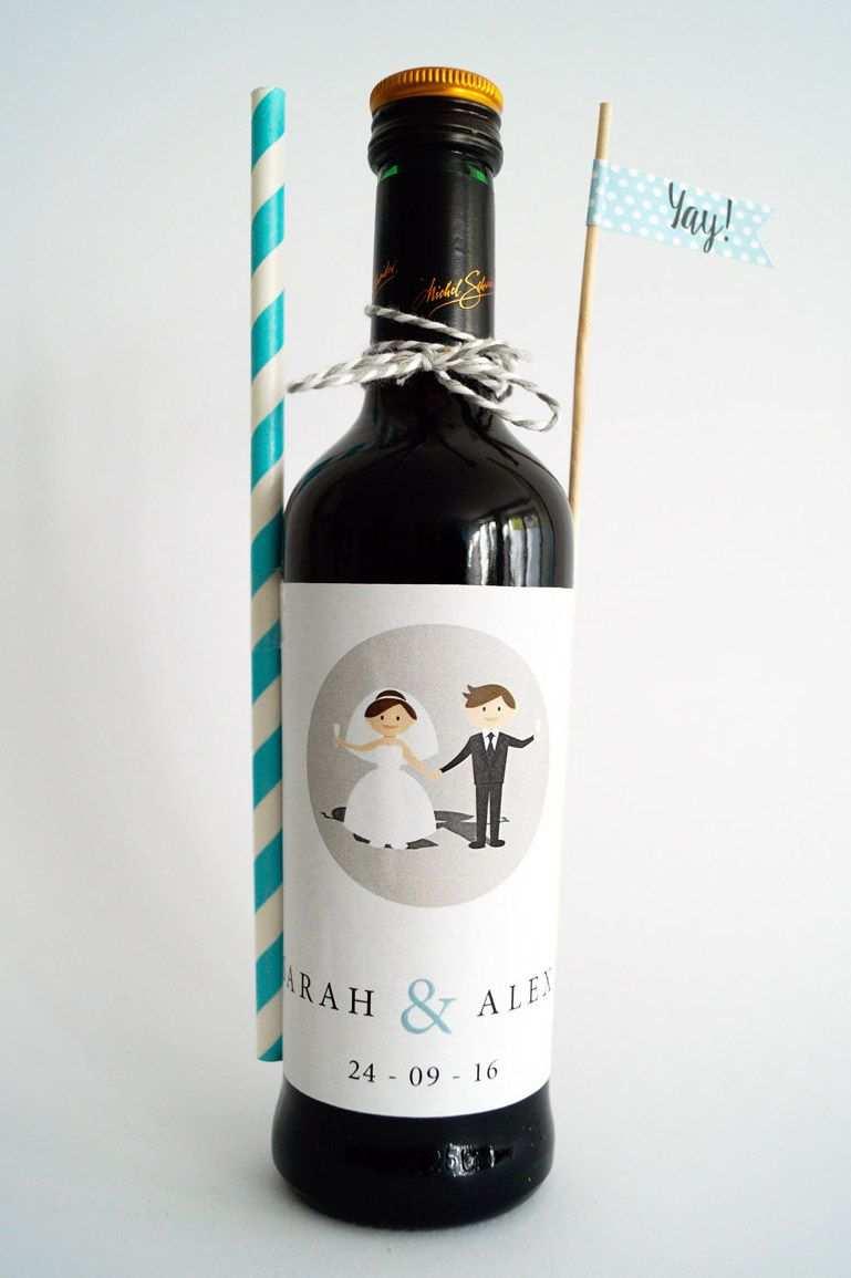 Tolle Diy Hochzeitsdeko Flaschenetiketten Mit Euren Namen Diy